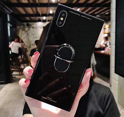 Cesa Beams バンカースクエア リング付き ケース iPhoneX/Xs ブラック