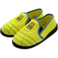 Manchester City FC Junior Neon Boot Slippers