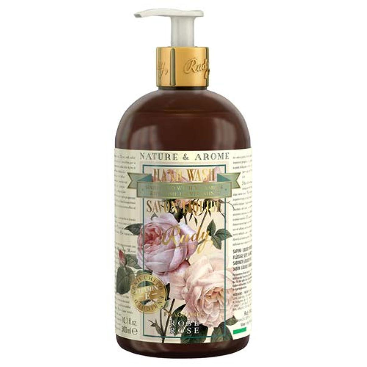 ファックスシミュレートするカポックRUDY Nature&Arome Apothecary ネイチャーアロマ アポセカリー Hand Wash ハンドウォッシュ(ボディソープ) Rose ローズ