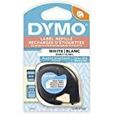 DYMO LetraTag Labeler Plastic Tape 12mm x 4M White