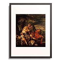 ヴェロネーゼ 「Venus und Adonis.」 額装アート作品