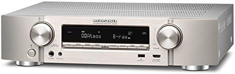 marantz AVレシーバー 7.2ch フルディスクリート/Dolby Atmos・DTS:VirtualX・4K UHD ・HDCP2.2・HEOS/ハイレゾ音源対応 シルバー NR-1609/FN