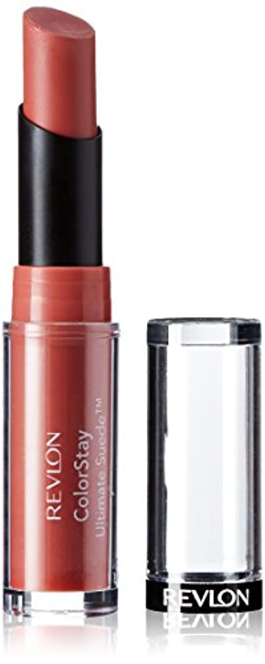間隔資格情報丁寧Revlon Colorstay Ultimate Suede Lipstick (Influencer (099))
