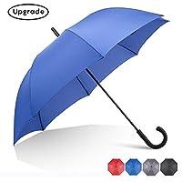 RUMBRELLA Hook Handle Umbrella Windproof, j Umbrellas Auto Open 54IN