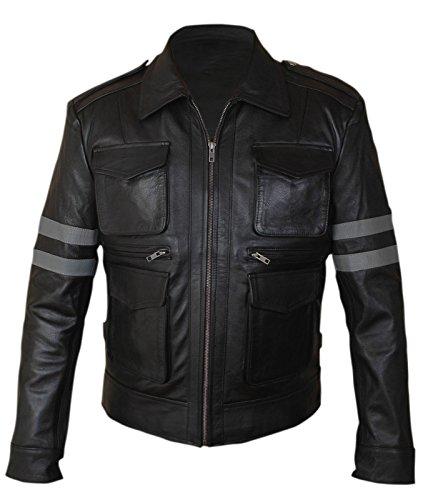 F & H Boy 'sバイオハザードLeon Kennedyジャケット L ブラック