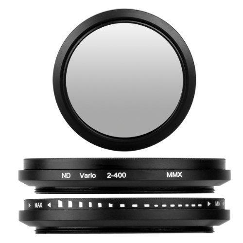 BlueBeach 43 mm調節可能な中立密度NDフェーダーレンズフィルタnd2-nd400 for Canon Nikon Sony Pentax Fuji Panasonic JVC Kodak DSLRデジタルカメラ