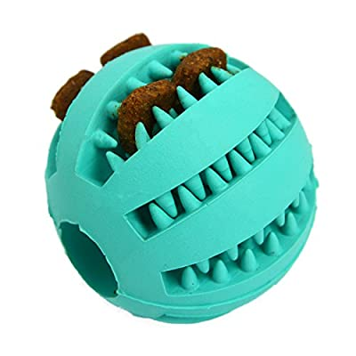 Zenify Puppy Toys Dog Toy Puppy Treat Training Behaviour Ball - Interactive Stimulation Gift for Smarter Dogs and Puppies