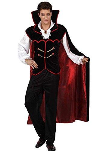 高品質 ドラキュラ コスプレ 衣装 セット 吸血鬼 コスプレ ハロウィン 男性 メンズ (Mサイズ) [並行輸入品]