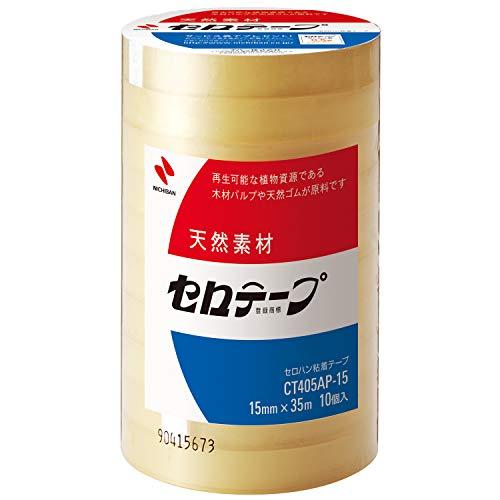 ニチバン セロテープ 大巻 10巻入 15mm×35m CT405AP-15