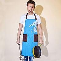 韓国風ファッションキックスロット成人高齢者ノースリーブ カフェ&イーキュート;後援された作業着(色:赤)