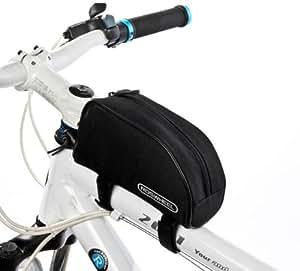 ROSWHEEL フレームバッグ 自転車 サイクリング 全3色 (ブラック)
