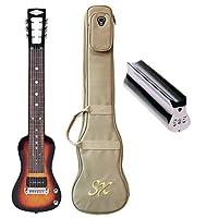 SX Guitars SXギター ラップスチールギター LG2 3TS ダンロップスライドバー付