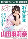【山田麻莉奈】ラブラドール・レトリバー AKB48 37thシングル選抜総選挙 劇場盤限定ポスター風生写真 HKT48チームH