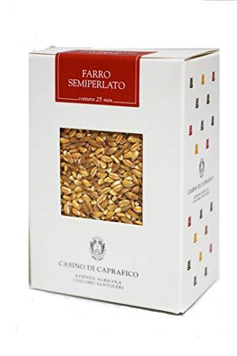 古代小麦 (スペルト小麦) ファッロ・セミペラート (Farro Semiperato)500g (ジャコモ・サントレーリ) Giacomo Santoleri イタリア産