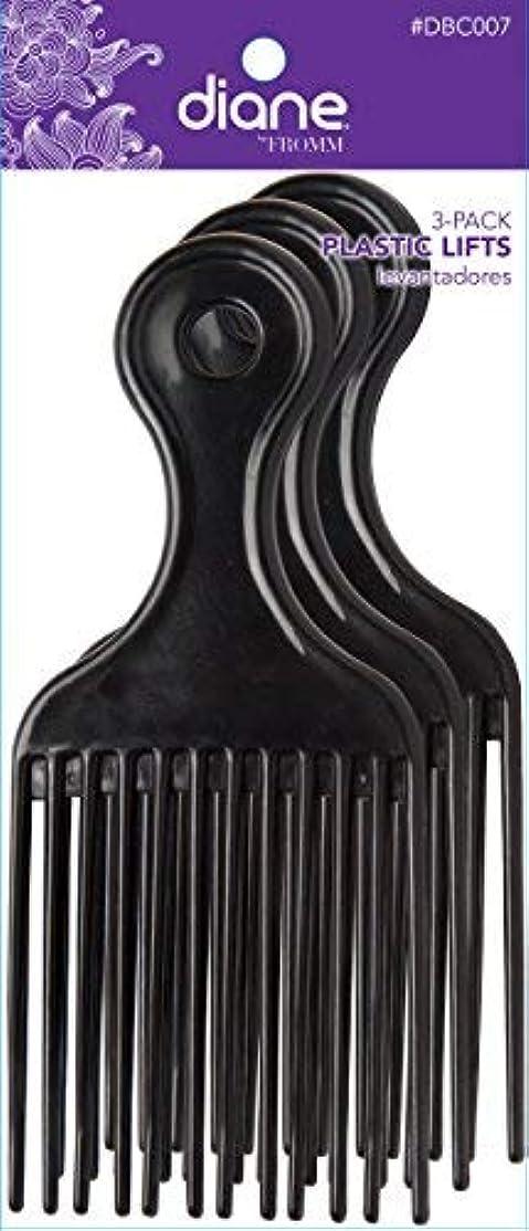 ヒューズ指令注釈を付けるDiane Plastic Lift Black (3 PACK) [並行輸入品]