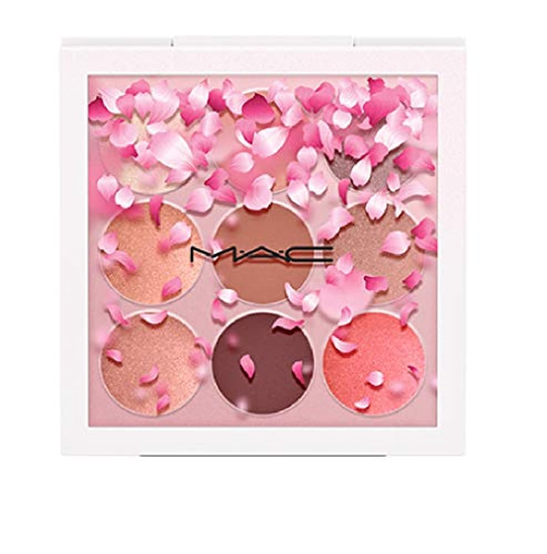 仲間免除うまくやる()【M?A?C(マック)】スモール アイシャドウ × 9(カブキ ドール) 限定 アイシャドウ パレット 桜 BOOM, BOOM, BLOOM