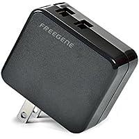 FREEGENE 2ポート USB急速充電器 ACアダプタ 3.4A 折畳式プラグ iPhone&Android対応
