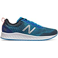 New Balance Men's Arishi v3 Fresh Foam Running Shoe, Vision Blue/Silver/White