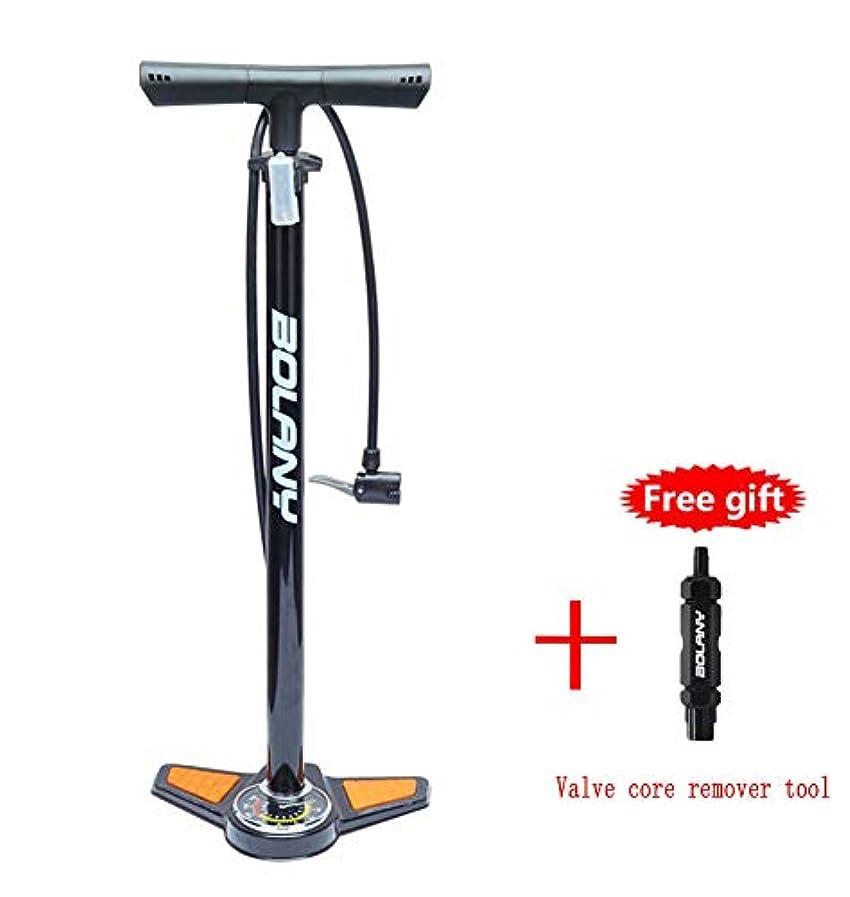 通路財布原告自転車フロアポンプは、自転車の高圧ポンプ自転車タイヤポンプprex&シュララー弁との互換性、ゲージ、160