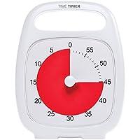 Time Timer® Time Timer PLUS (White) タイムタイマー プラス (ホワイト) 【 用途いろいろ タイマー アラーム 】 取っ手付 正規品