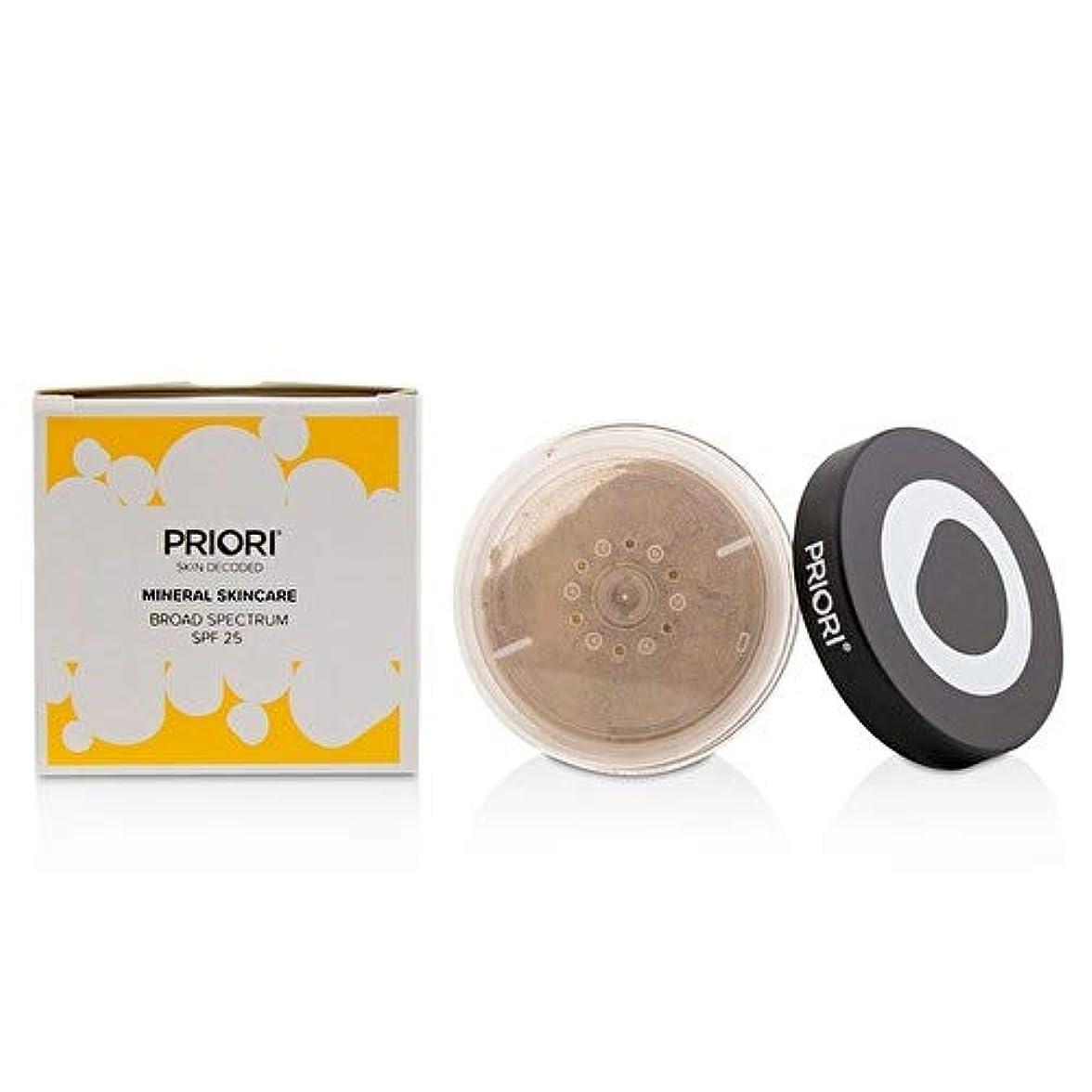 植生測定人里離れたプリオリ Mineral Skincare Broad Spectrum SPF25 - # Shade 3 (Fx353) 6.5g/0.23oz並行輸入品