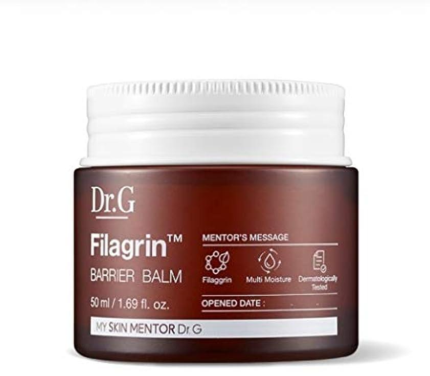 韓国語ハイキングに行く電池Dr.Gフィラグリンバリアバームクリーム50ml 韓国の有名化粧品ブランドの人気水分クリーム皮膚コーティング肌の保湿スキンケア