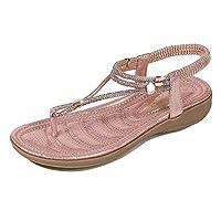レディースサンダルビーチサンダルビーチサンダルTシャツフラットサンダルコンフォートウォーキングシューズボヘミアサンダルゼリーの靴,C,42