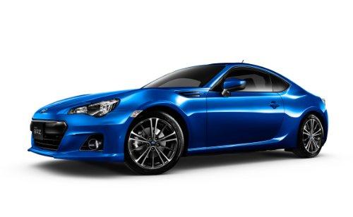 Qingdao cultural materials 1 / 24-prepaintmodelseries No.37 Subaru BRZ 2012 WR Blue Mica paint plastic model