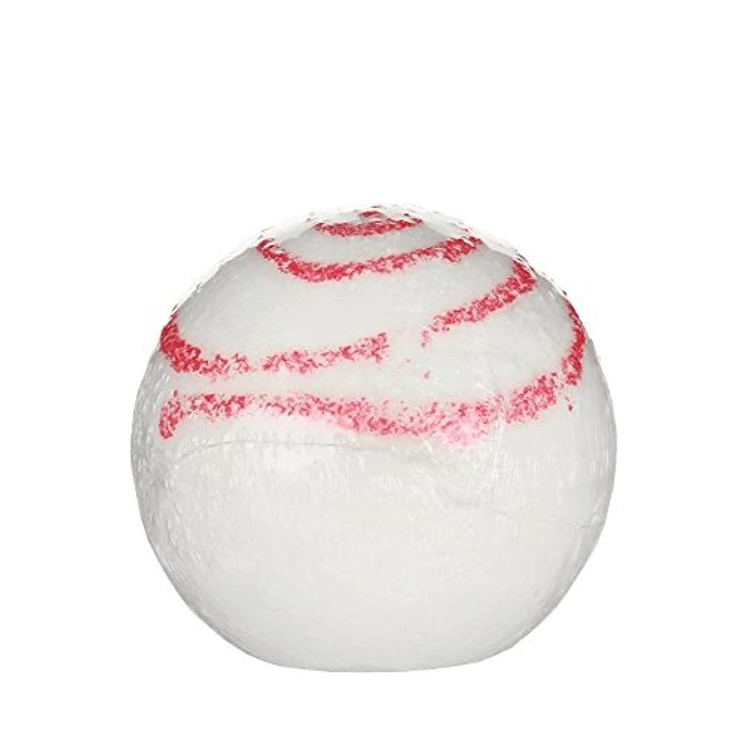 架空の噴水白いTreetsバスボールグリッターキス170グラム - Treets Bath Ball Glitter Kiss 170g (Treets) [並行輸入品]