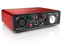 Focusrite Scarlett Solo G2 2in 2out 24bit 192kHz USBオーディオインターフェイス