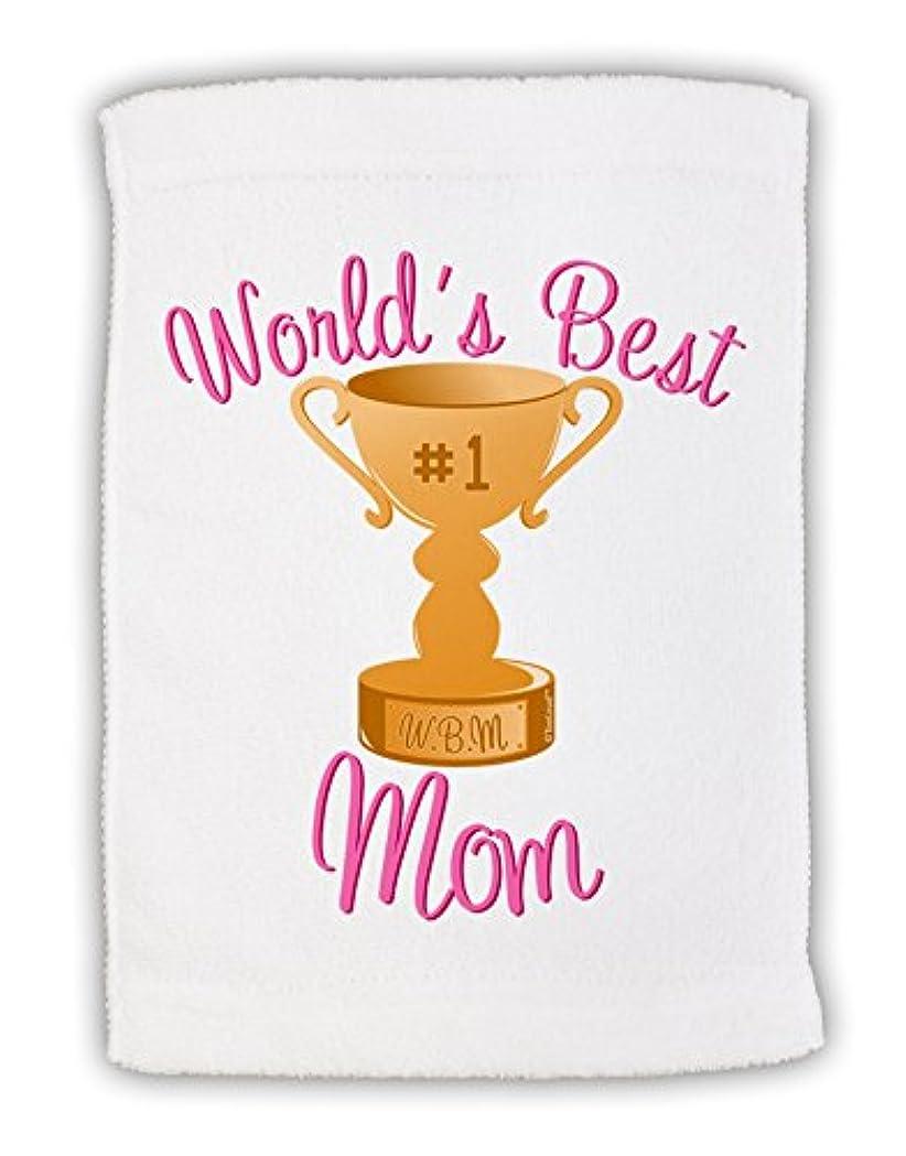 半球かんたんシールドTooLoud World 's Best Mom – Number OneトロフィーMicro Terryスポーツタオル11