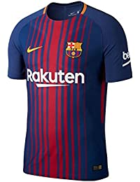 2017-2018 Barcelona Authentic Home Nike Shirt