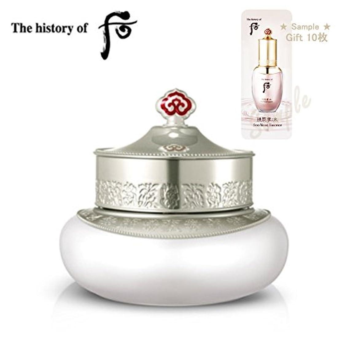 地上のレパートリー体操【フー/The history of whoo] Whoo 后(フー) The history of Whoo Gongjinhyang Seol Snow whitening cream (SPF30/PA ++)/美白 することができ 分光クリーム(SPF30/PA++)+ Sample Gift(海外直送品)