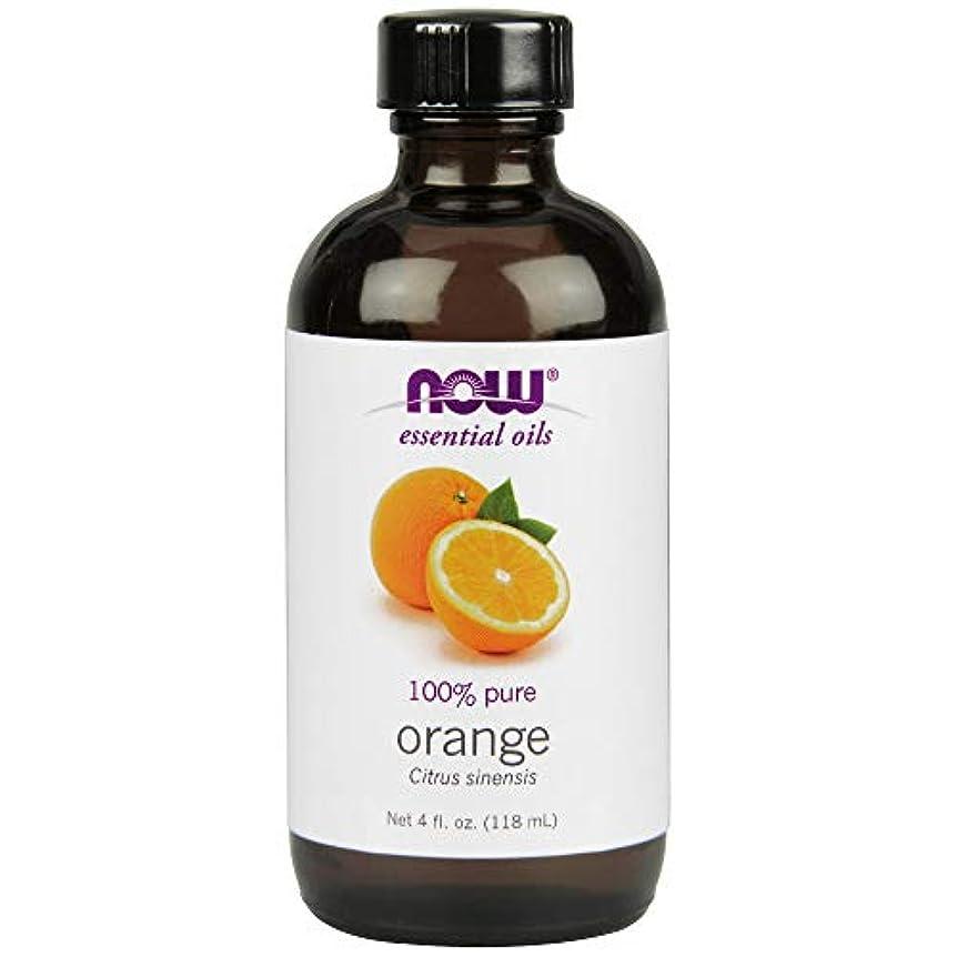 こしょう議論する身元ナウフーズエッセンシャルアロマオイル オレンジ 118ml 【正規輸入品】