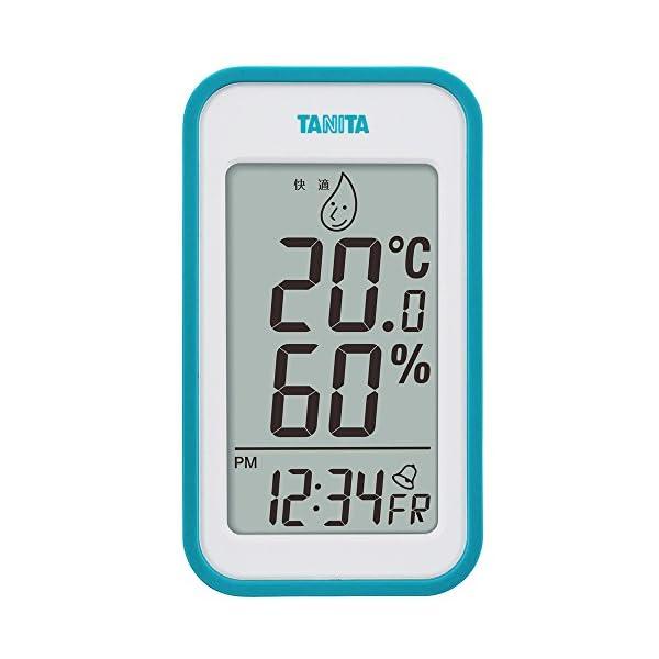 タニタ デジタル温湿度計 置き掛け両用タイプ/マ...の商品画像