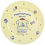 大西賢製販(K・Onishi) 子ども用プレート POMPOMPURIN Φ17cm sanrio メラミンプレート NATSUKASHI SRC-652
