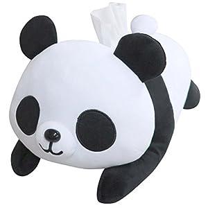 パンダ の ぬいぐるみ ティッシュ カバー ME295
