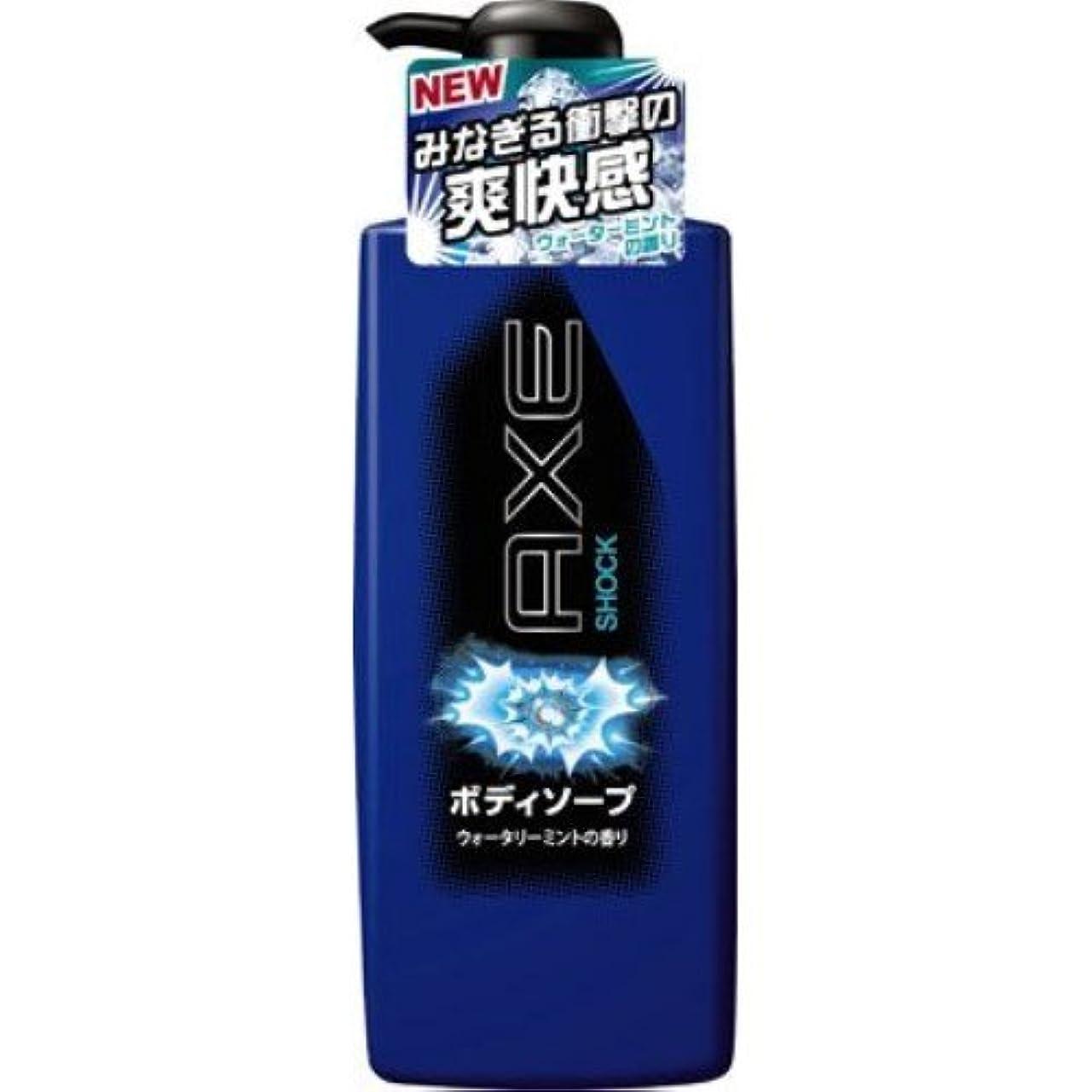 談話クラウン乳製品アックス(AXE) ボディソープ ショック ポンプ 480g