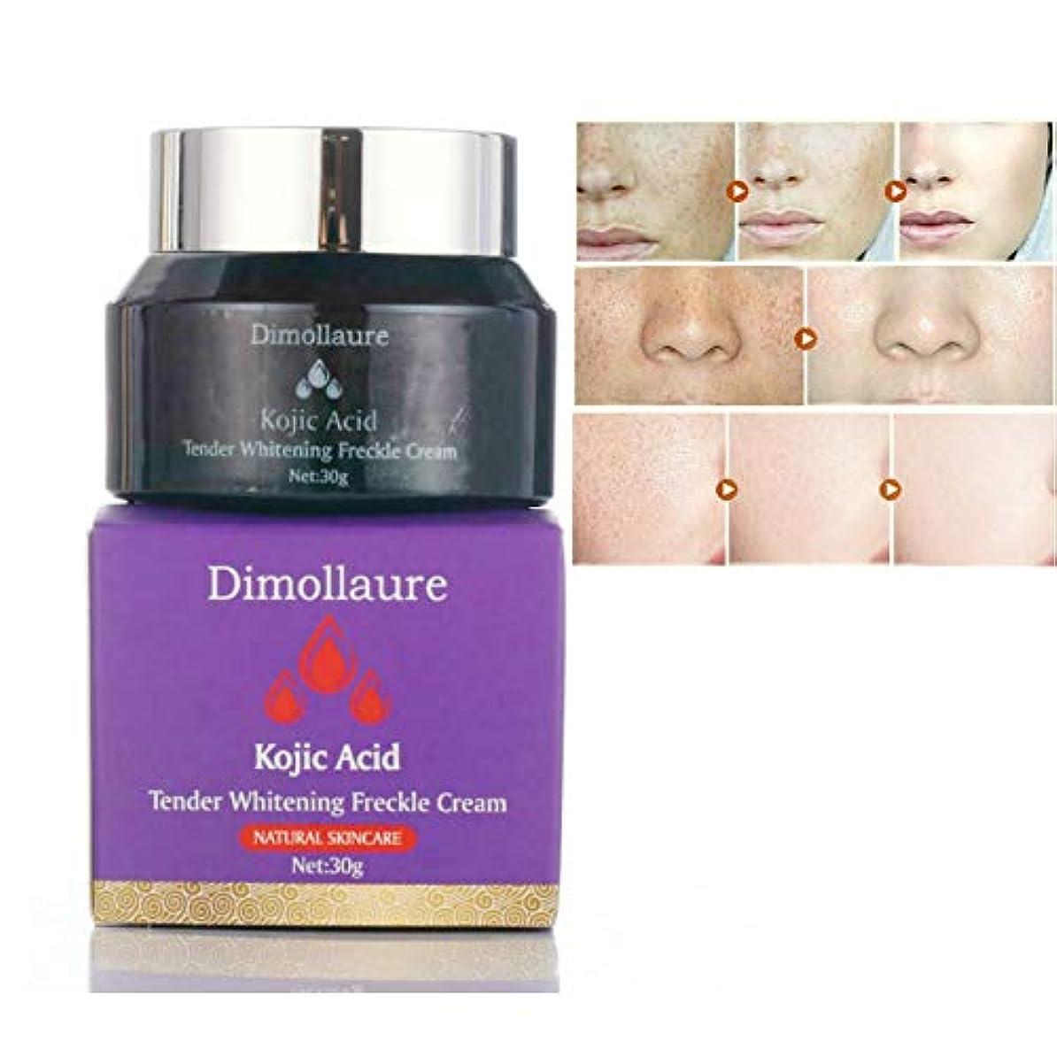 Dimollaureコウジ寧クリーム30グラムのしわの除去そばかす肝斑にきび瘢痕顔料年齢スポットメラニン日のスポットフェイスクリーム