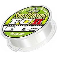 サンライン(SUNLINE) フロロカーボンライン ソルティメイト スモールゲームFC II 240m 0.6号 2.5lb ナチュラルクリア