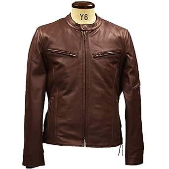 (リューグーレザーズ) Liugoo Leathers シングルライダース 高機能防寒仕様シングルライダースジャケット  LLサイズ ダークブラウン
