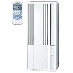 コロナ ウインドエアコン (冷房専用タイプ) 液晶リモコン付 シェルホワイト CW-1618(WS)