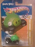 2012 Hot Wheels ANGRY BIRDS- MINION GREEN PACKAGE CHASE 1:64 DIECAST CAR- NEW IN PACKAGE- RARE