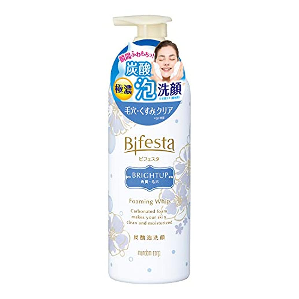 愛国的なコンクリート略語ビフェスタ 泡洗顔 ブライトアップ 180g
