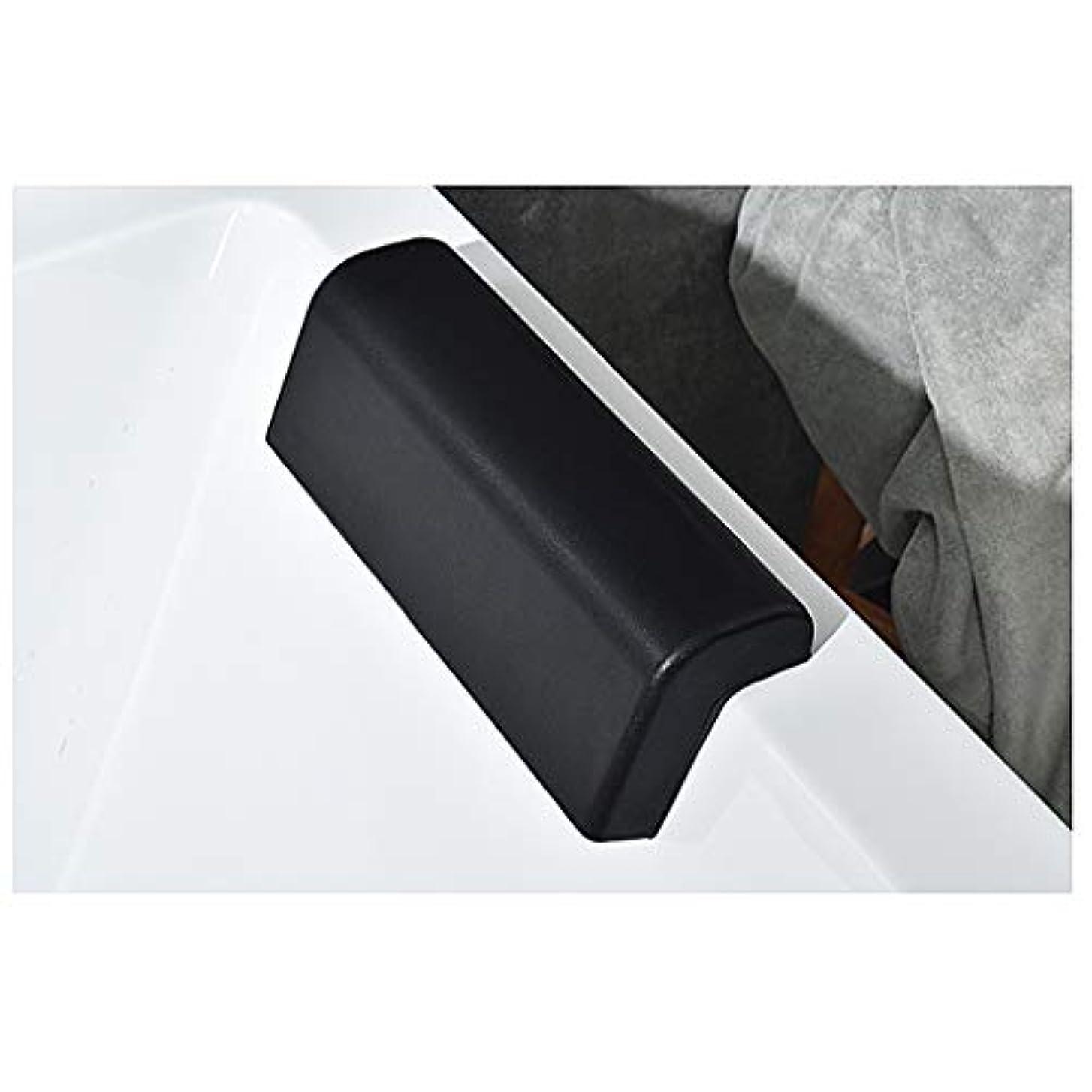 発信傀儡消化器浴槽枕-人間工学に基づいたスパ風呂枕-風呂枕-快適で速乾性-首と肩用-肩の支え-風呂枕-2つの吸盤付きの滑り止め浴槽枕-四角い浴槽に最適-ジャグジー そしてスパ
