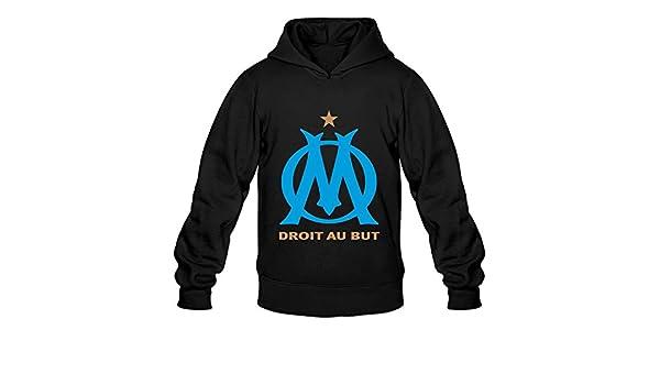 Tavil Olympique De Marseille 100/% Cotton Hoodies For Men