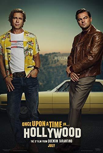 映画ポスター ワンスアポンアタイムインハリウッド Once Upon a Time in Hollywood US版 hi2 [並行輸入品]
