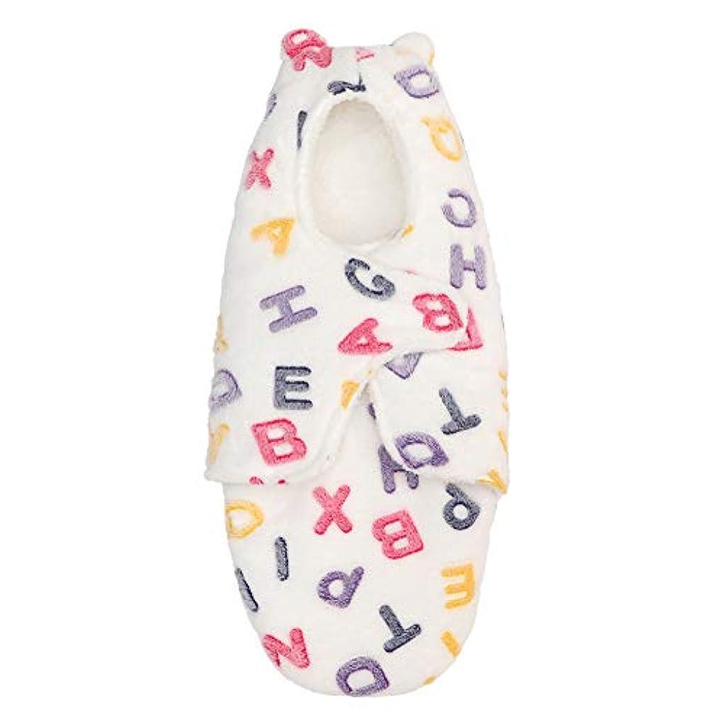 はず寮ミトンXFentech 乳児の寝袋 - カジュアル屋外の冬の乳児アンチキックプラスベルベット寝袋 0?6ヶ月