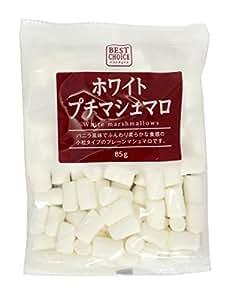 エイワ ベストチョイス ホワイトプチマシュマロ 85g×6袋
