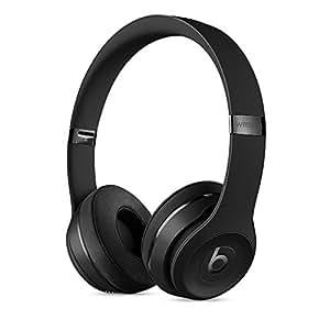 Beats by Dr.Dre ワイヤレスオンイヤーヘッドホン Beats Solo3 Wireless 連続再生約40時間 Bluetooth対応 W1チップ搭載 密閉型 通話可能 リモコン有り ブラック MP582PA/A  【国内正規品】